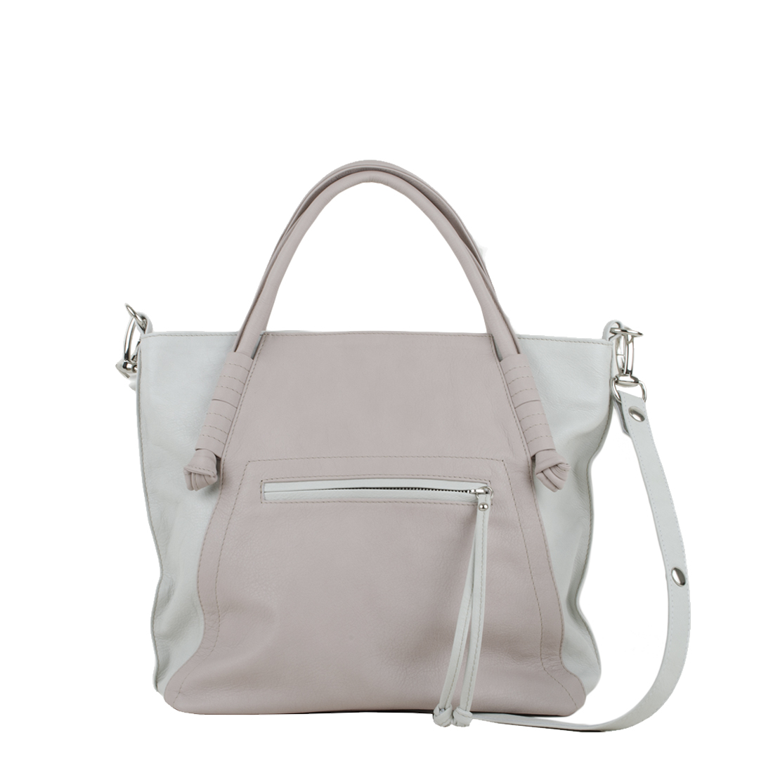 Amy Pale Pink PolvereTote Bag