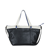 Lucy Black Polvere Leather Tote Bag