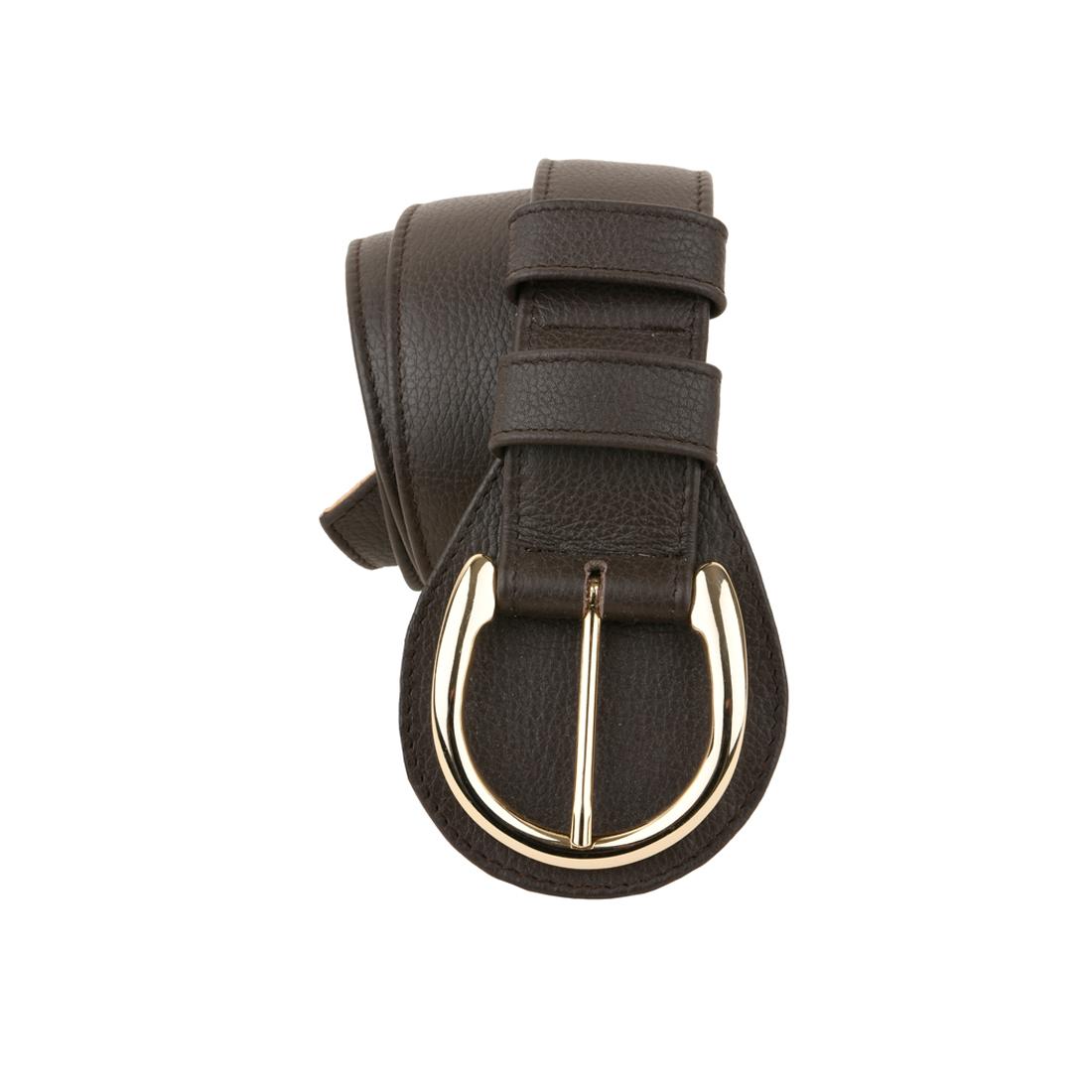 Brown Horseshoe Belt