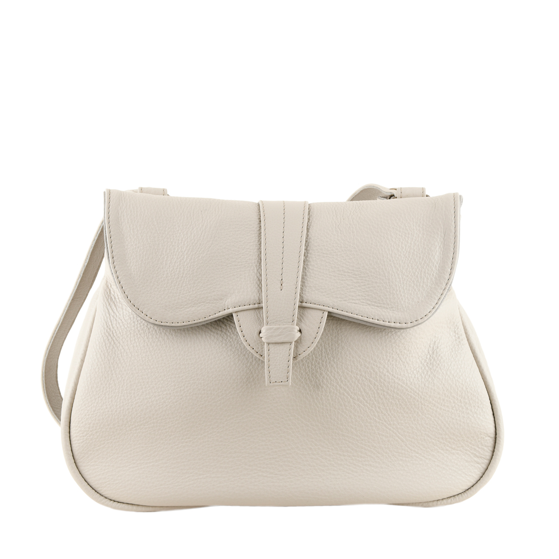 Beth Ivory Across Body Leather Bag