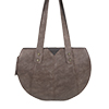 Carrie Bronze Python Print  Leather Shoulder Bag