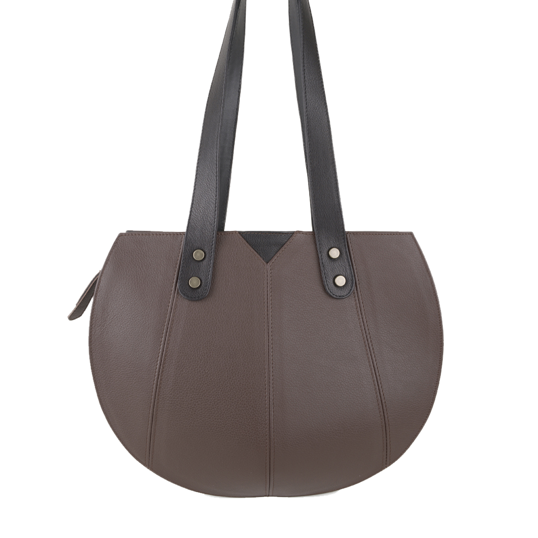 Carrie Brown Leather Shoulder Bag