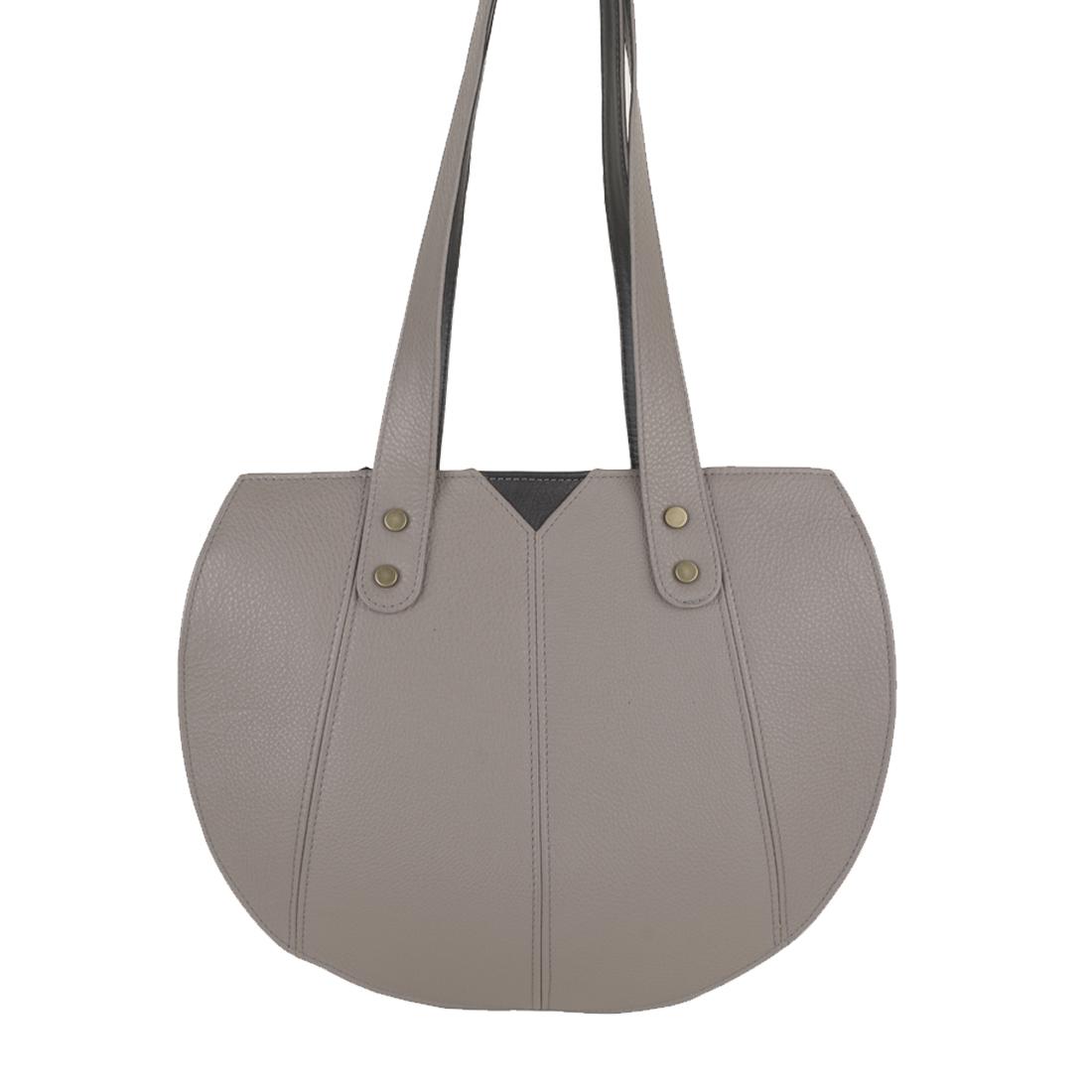 Carrie Zinco Leather Shoulder Bag