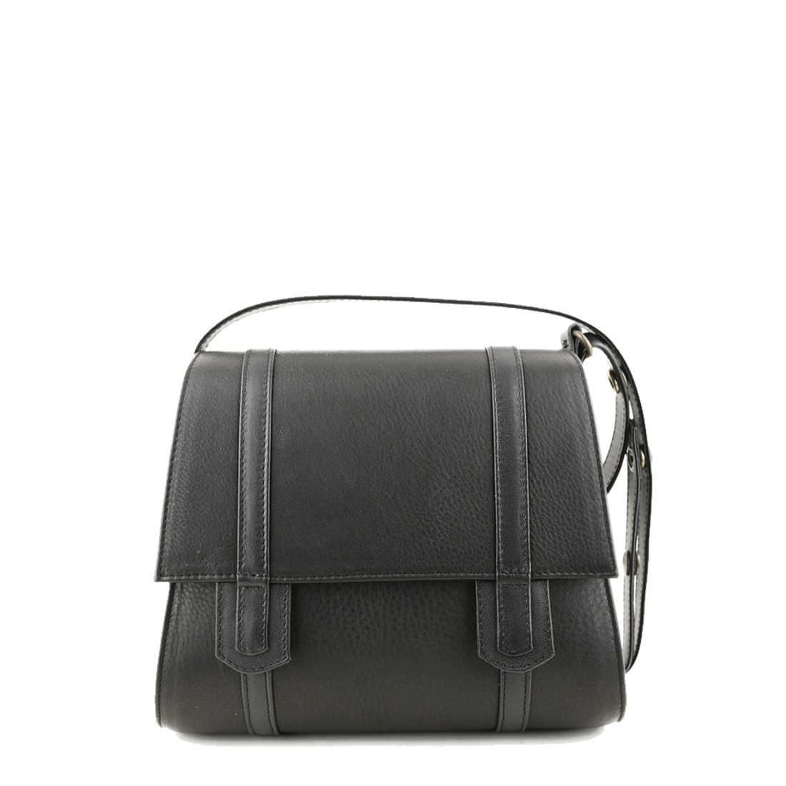 Chloe Black Across Body Leather Bag