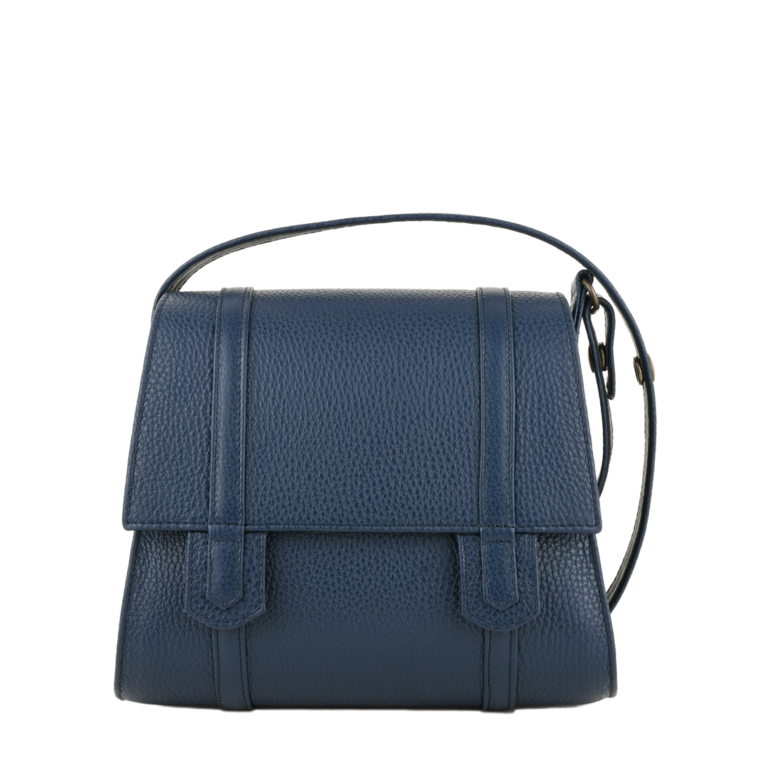 Chloe Navy Across Body Leather Bag