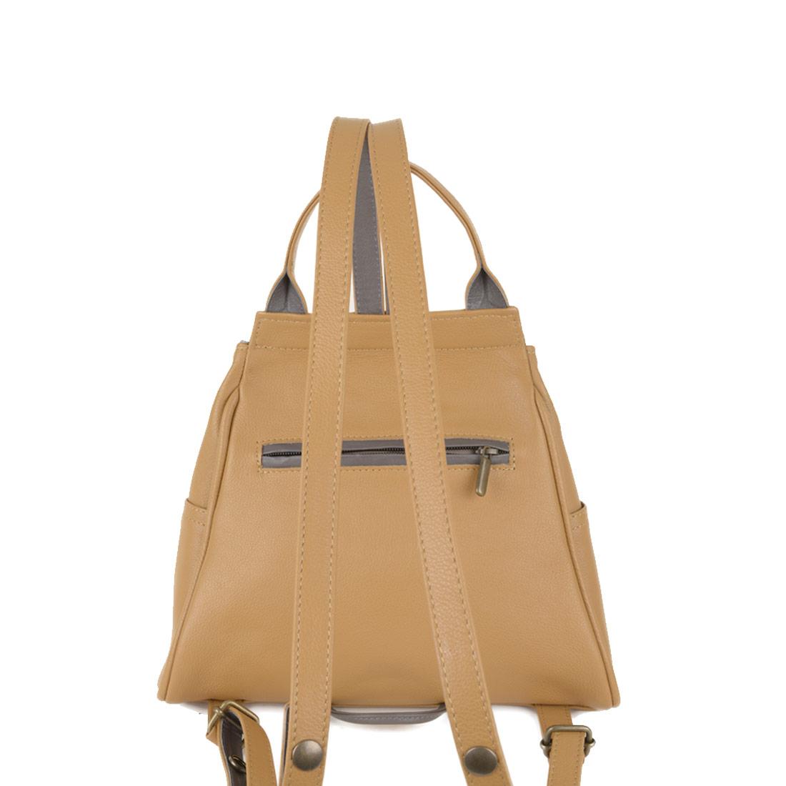 Daliya Miel Leather Backpack