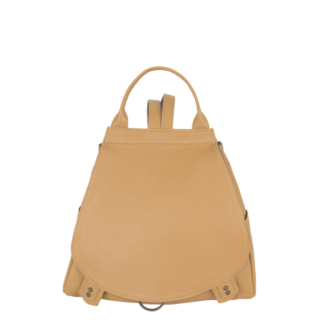 Daliya Miel Leather Backpack
