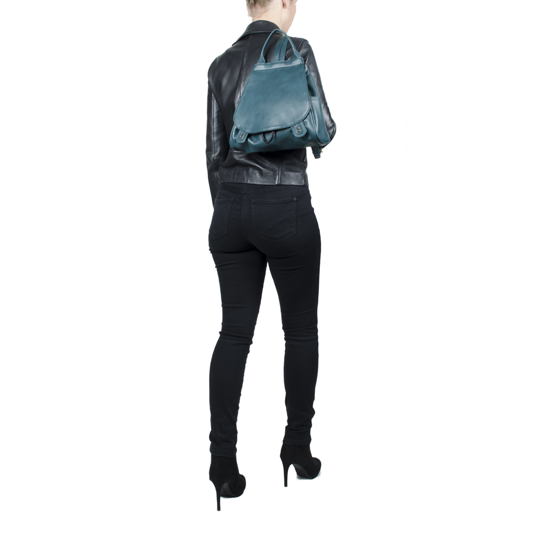Daliya Loden Leather Backpack