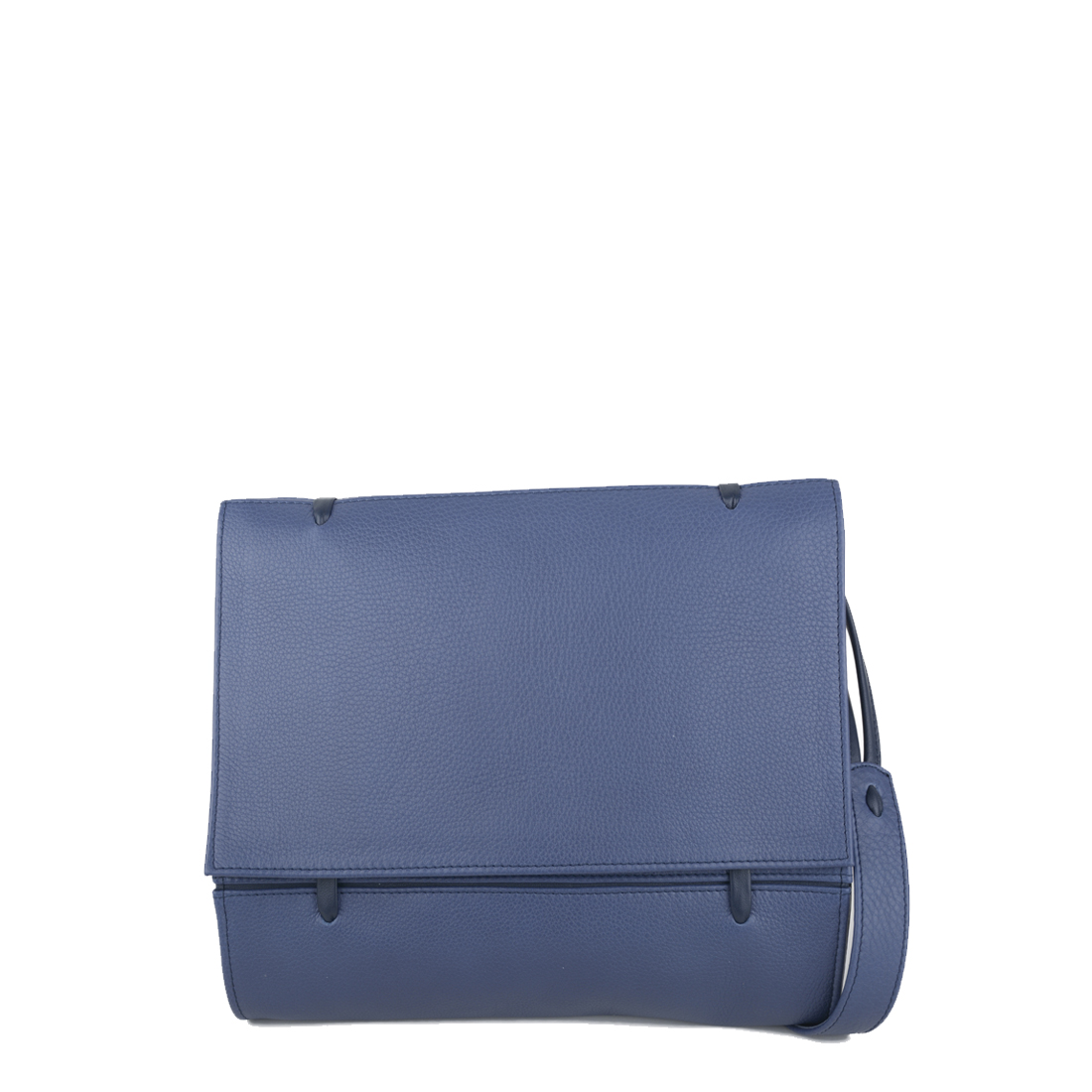 Elsa Chalk Blue Leather Across Body Bag