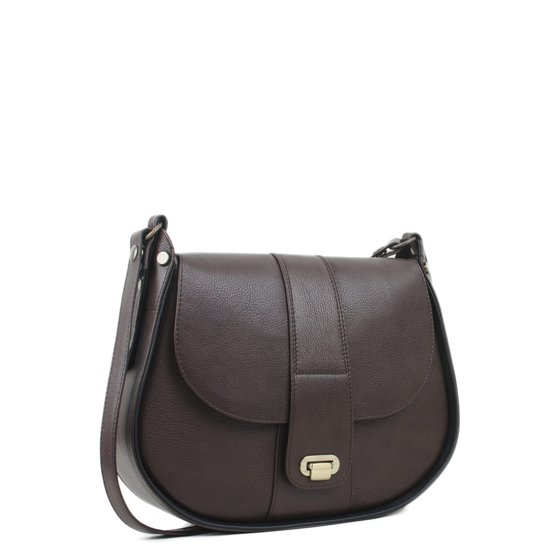 Freya Dark Brown  Across Body Bag