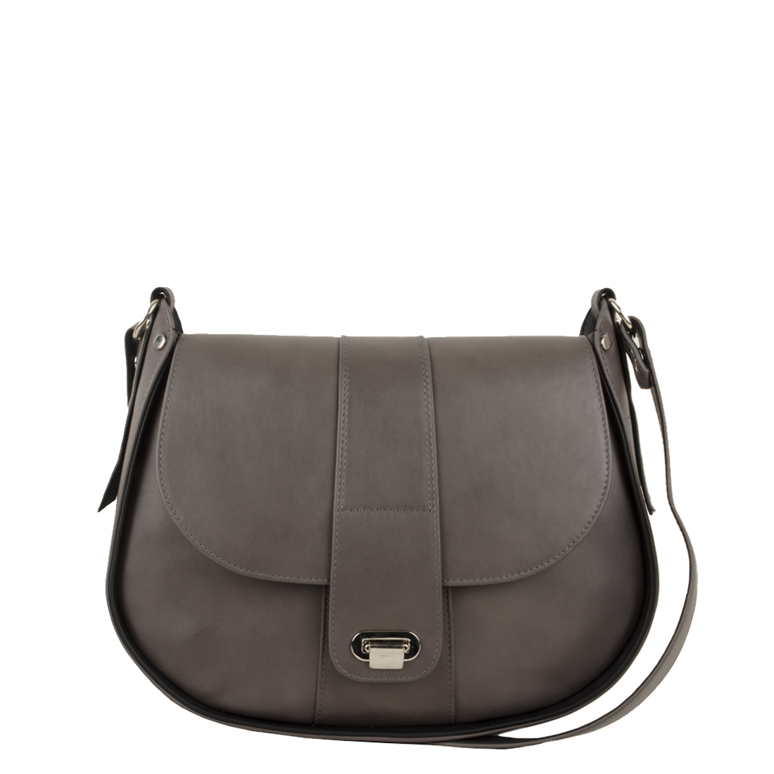 Freya Grigio Black Across Body Bag