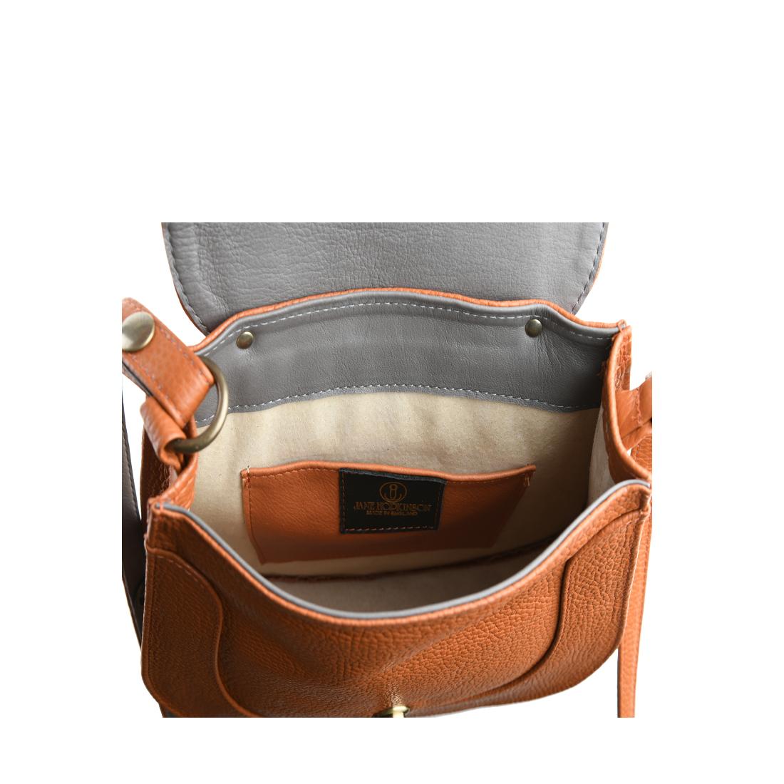 Hattie Black Leather Shoulder Bag