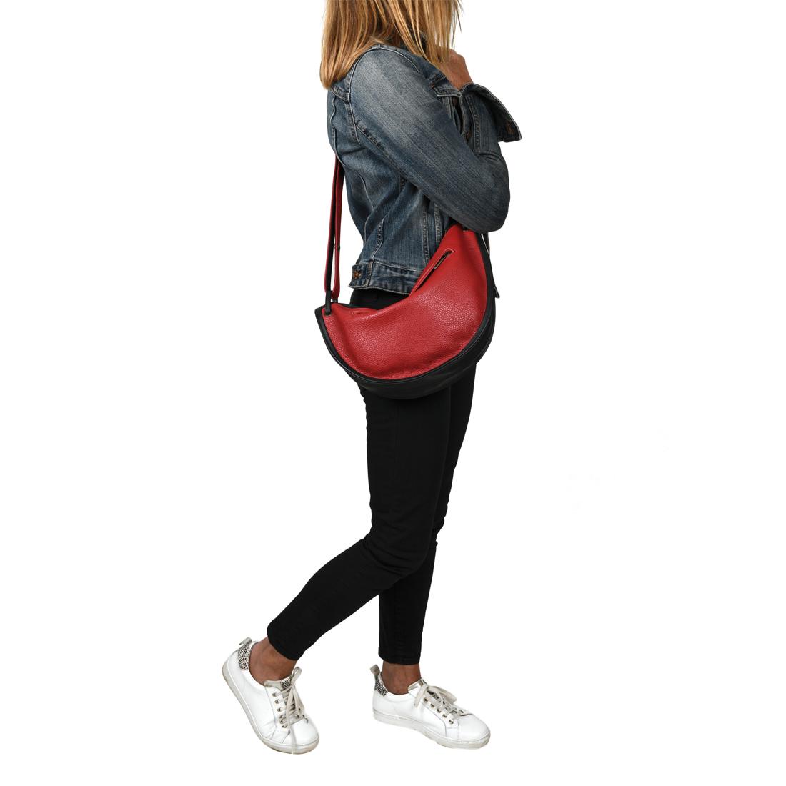 Jasmine Black Across Body Bag