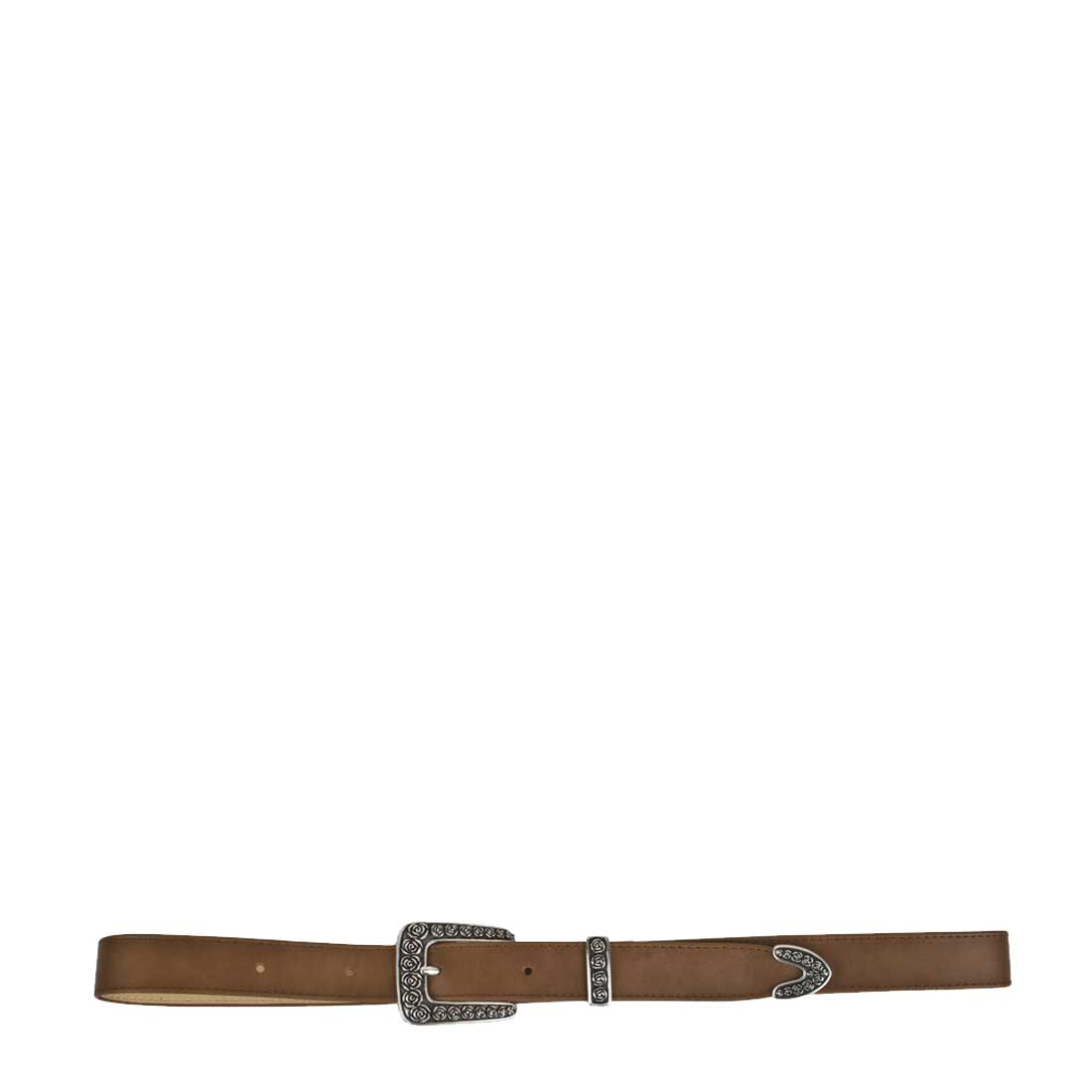 Rose Tan Leather Belt