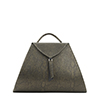 Josie Green Snake Print Leather Backpack