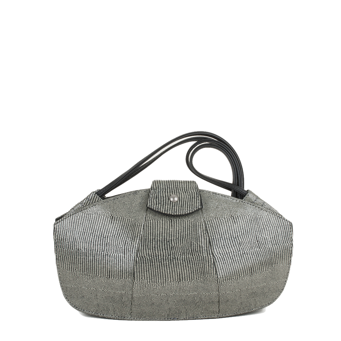 Kate Courmayeur Print Leather Shoudler Bag