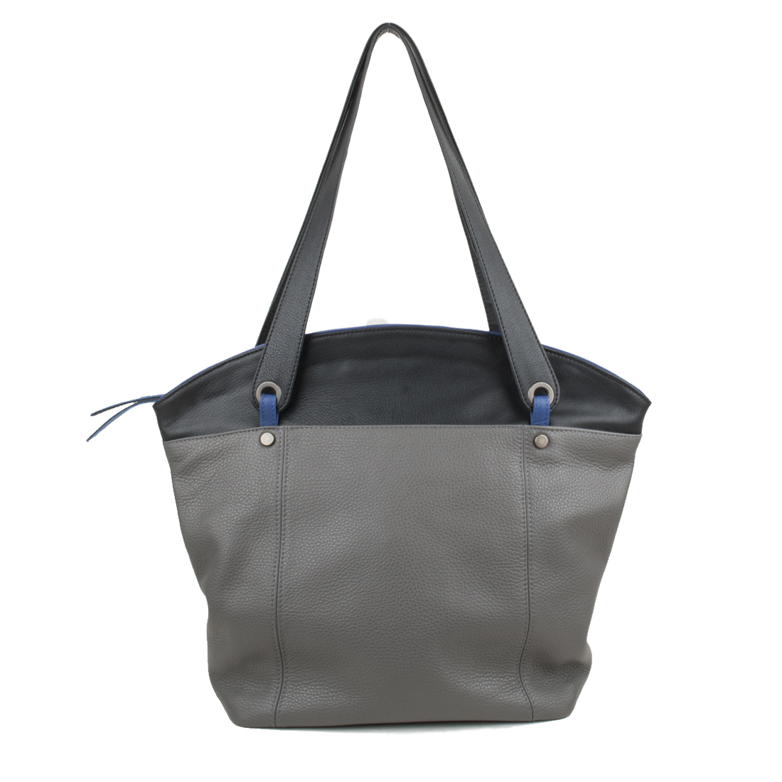 Kimberley Grey Black Tote