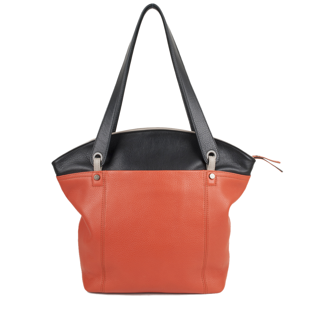 Kimberley Orange Black Tote