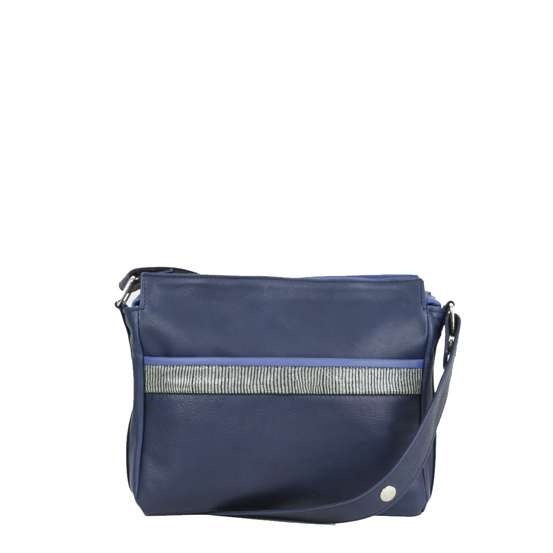 Layla Navy with courmayeur Across Body Bag