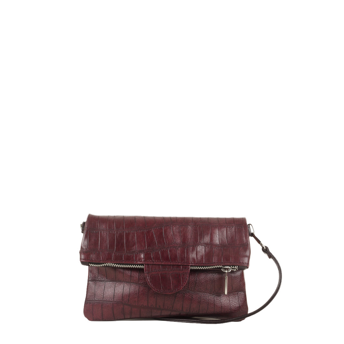 Lilly Burgundy Print  Across Body Bag