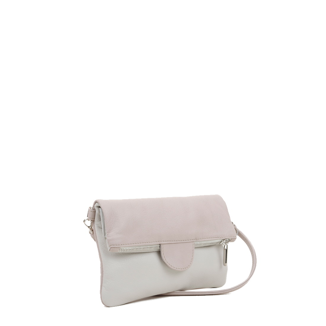 Lilly Pale Pink Polvere Across Body Bag
