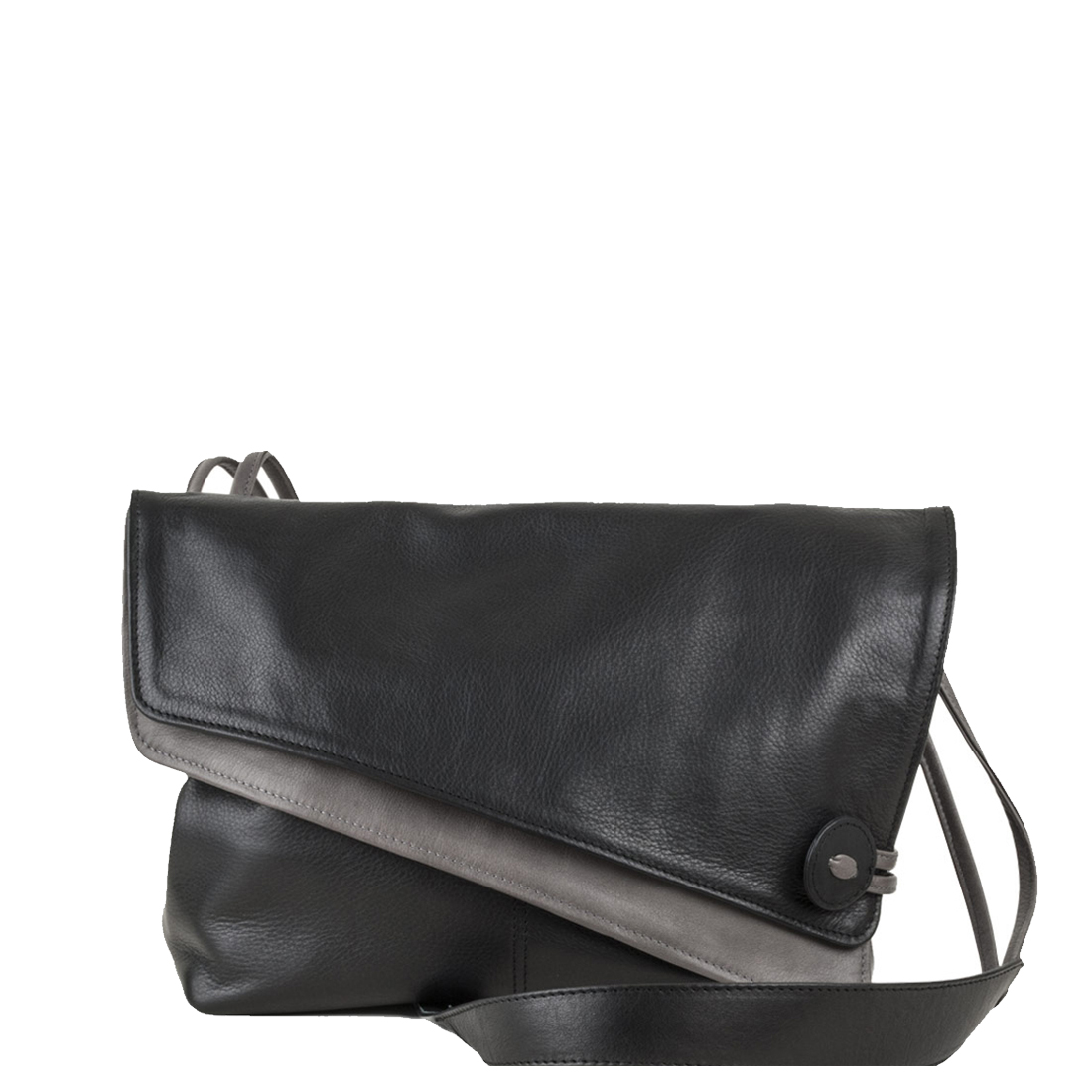 Lindsay Black Across Body Leather Bag