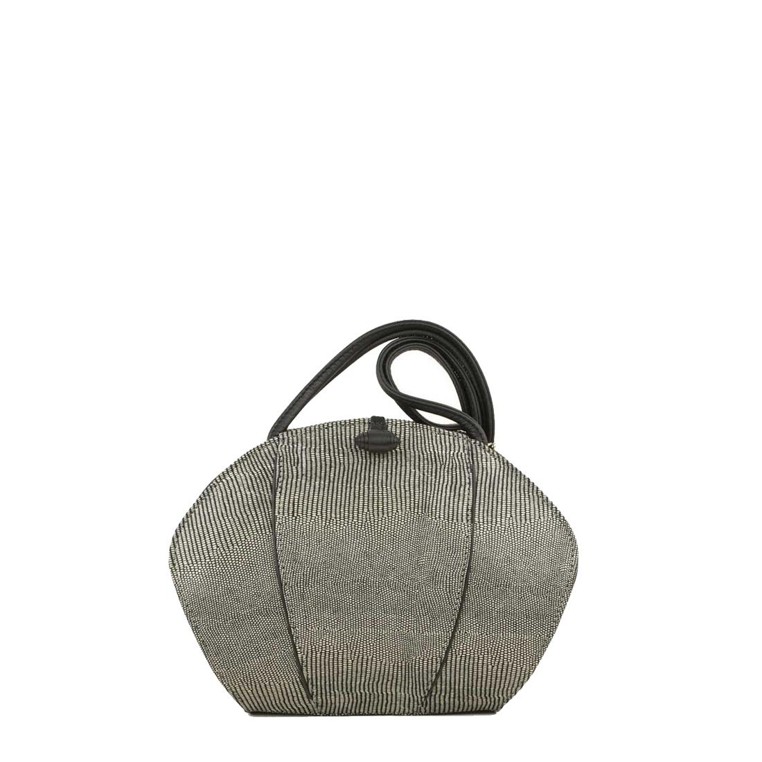 Lola Courmayeur Print Leather Shoulder Bag