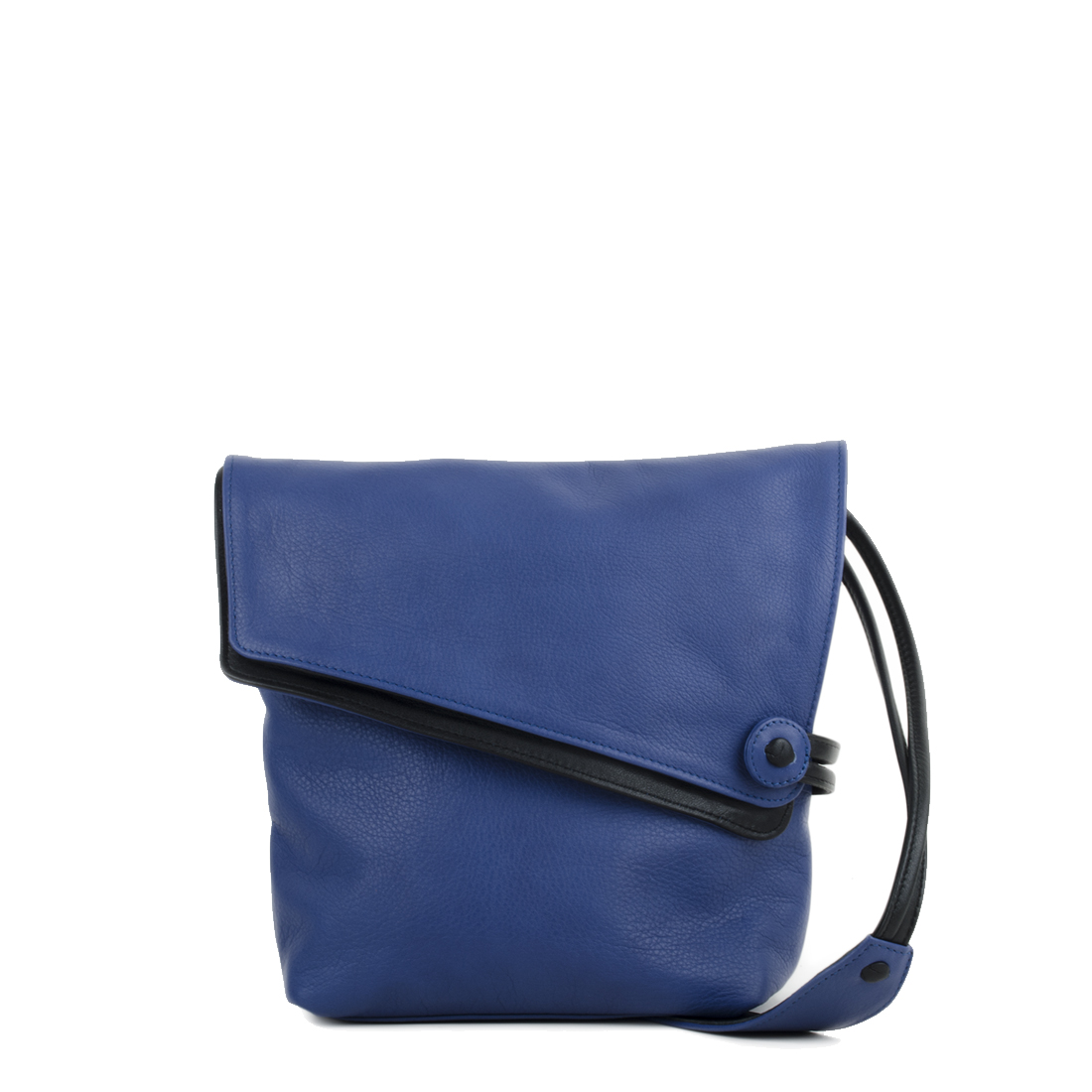Louise Blue Across Body Leather Bag