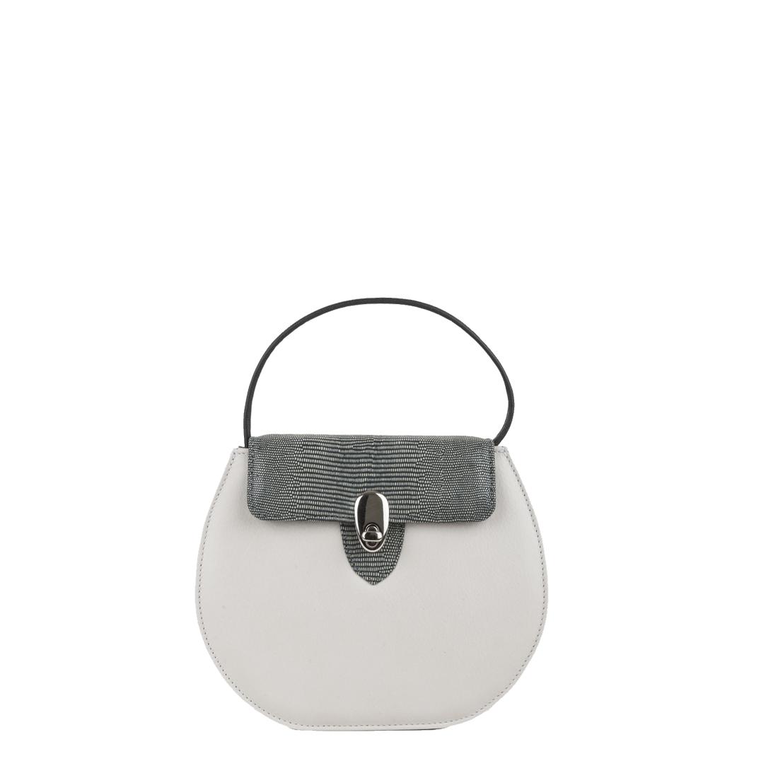 Mae Polvere Leather Shoulder Bag