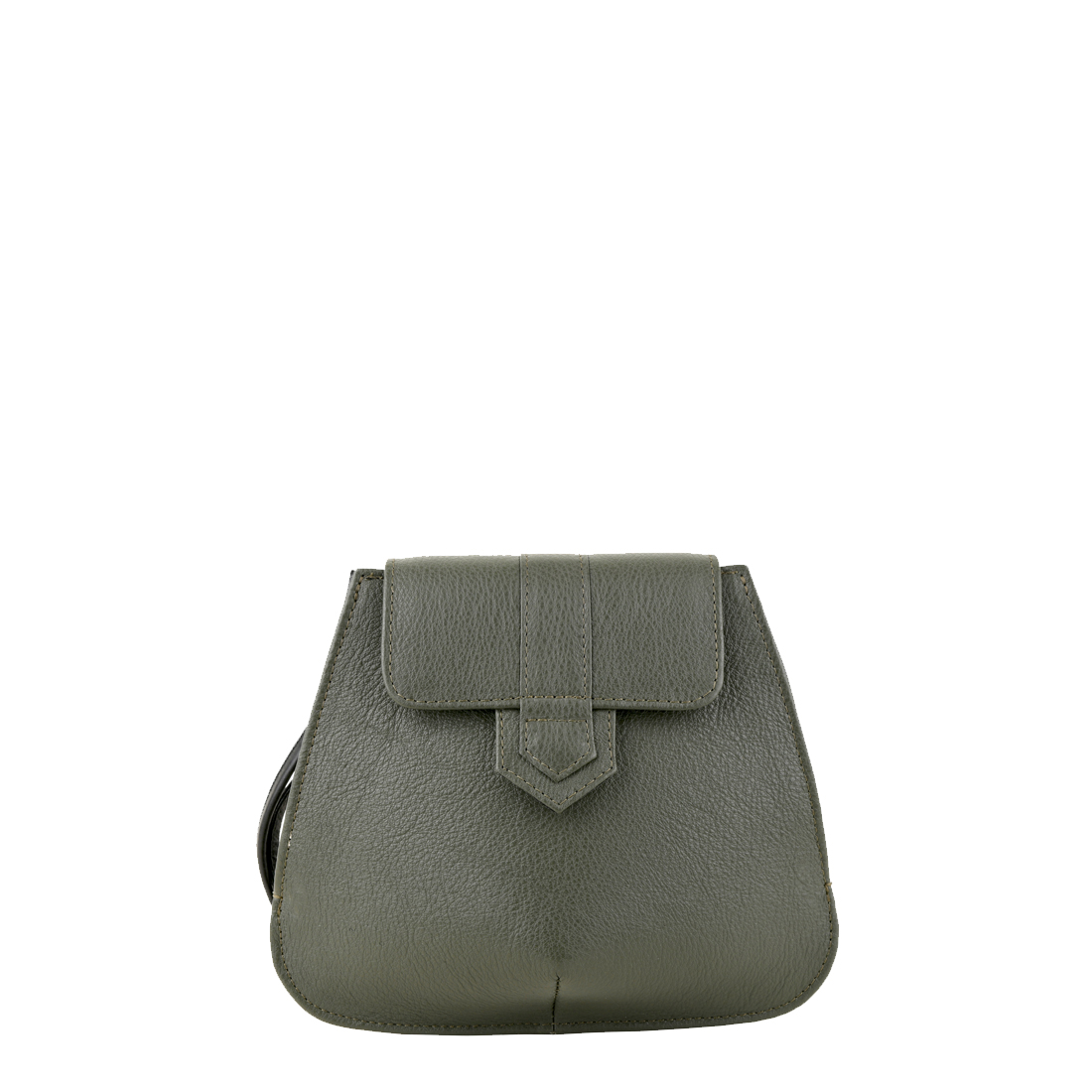 Margot Loden Leather Evening Bag