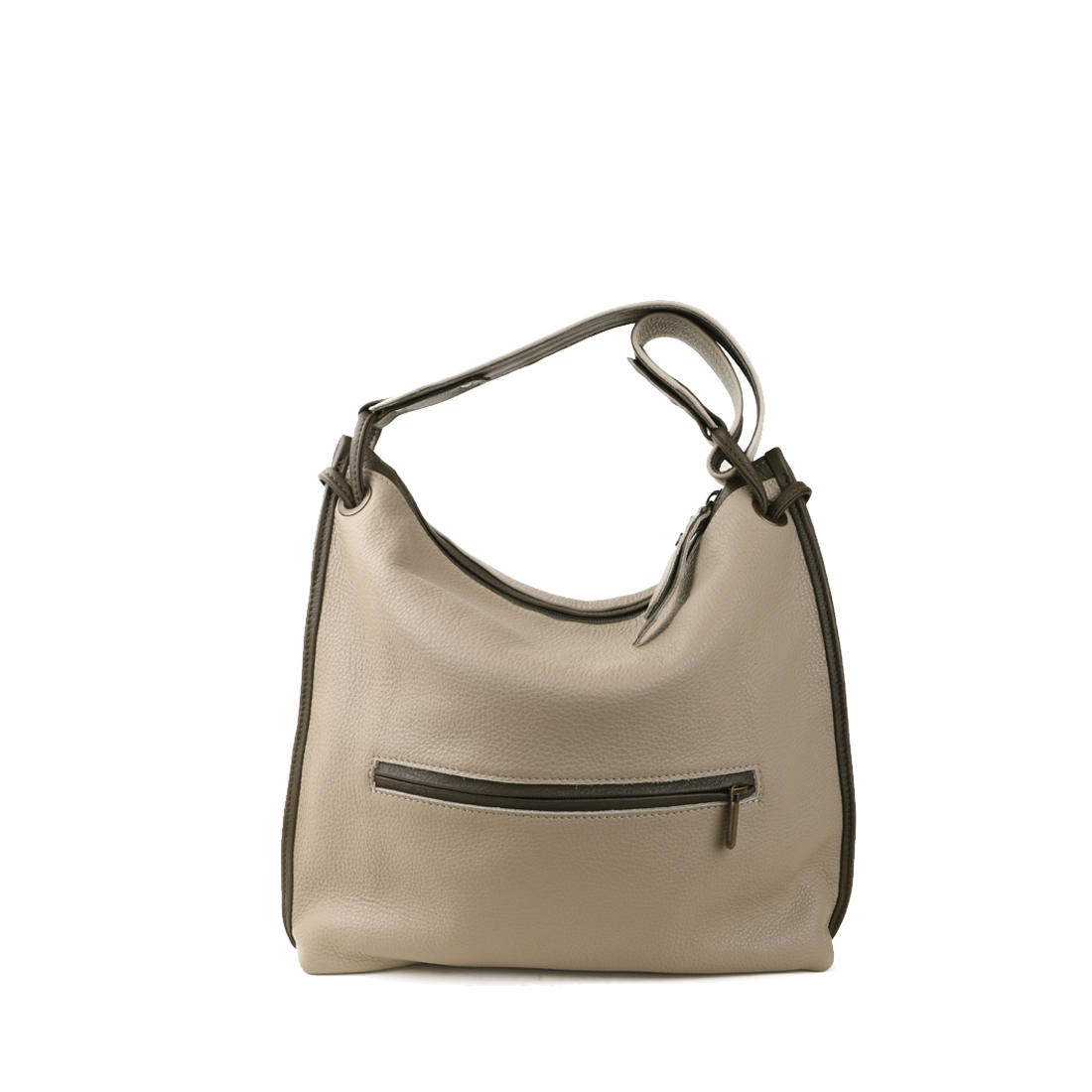 Maria Lino Leather Shoulder Bag