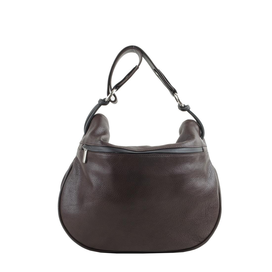 Matilda Brown Leather Shoulder Bag