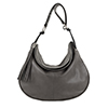 Matilda Grigio Leather Shoulder Bag