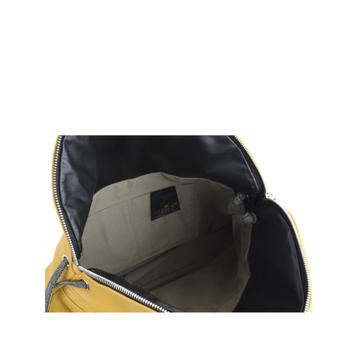 Matilda Mustard Leather Shoulder Bag