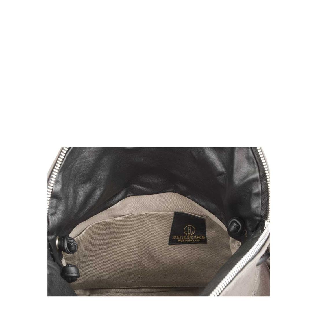Milly Grigio Leather Shoulder Bag