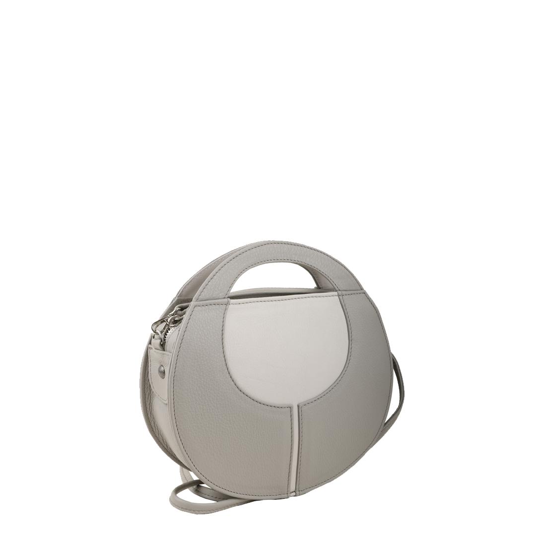 Olivia Plaster Leather Shoulder Bag