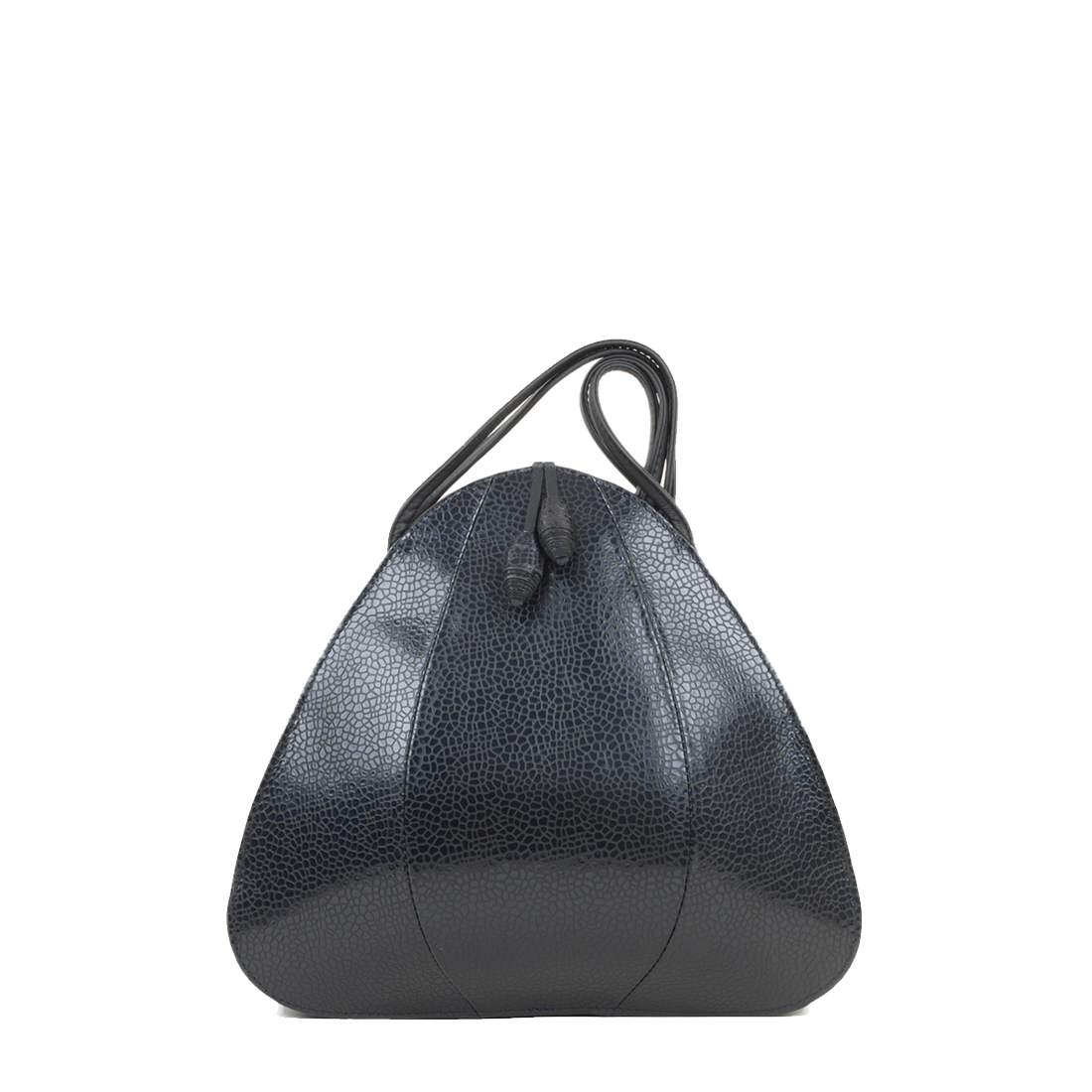 Petal Navy Print Shoulder Bag