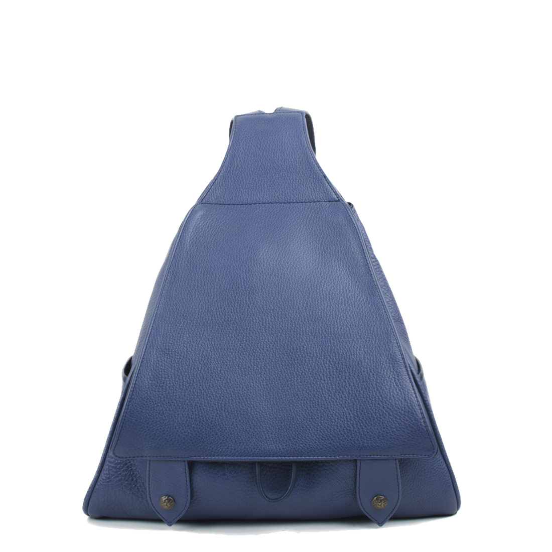 Saddlebag Chalk Blue  Leather Backpack
