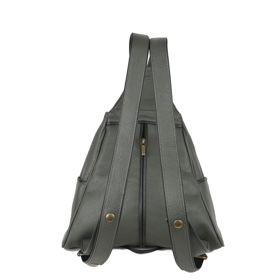 Saddlebag Loden Leather Backpack