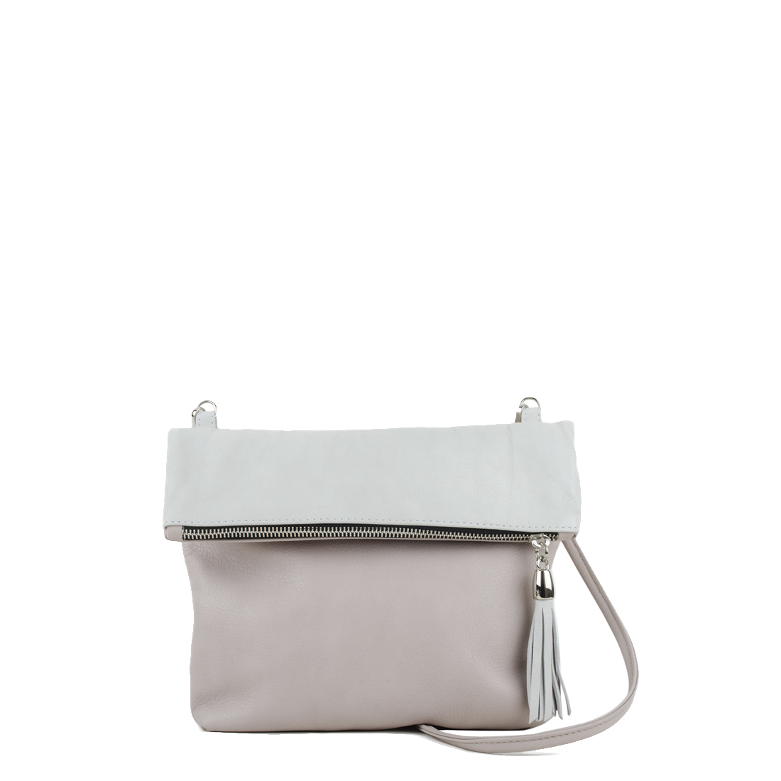 Sofia Pale Pink with Polvere Across Body Bag