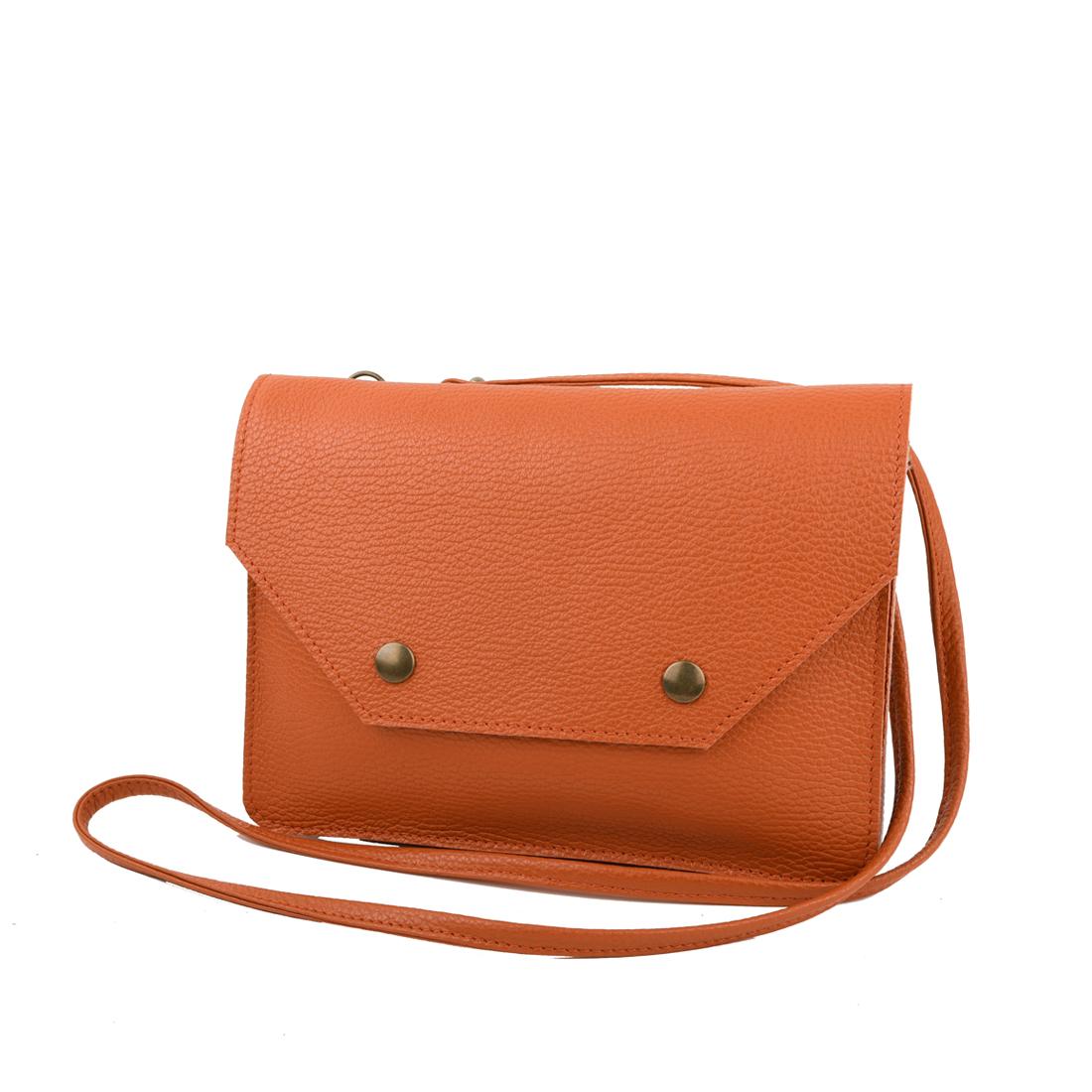 Zara Burnt Orange Across Body Bag