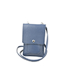 Zoe chalk blue phone pouche