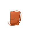 Zoe burnt orange phone pouche